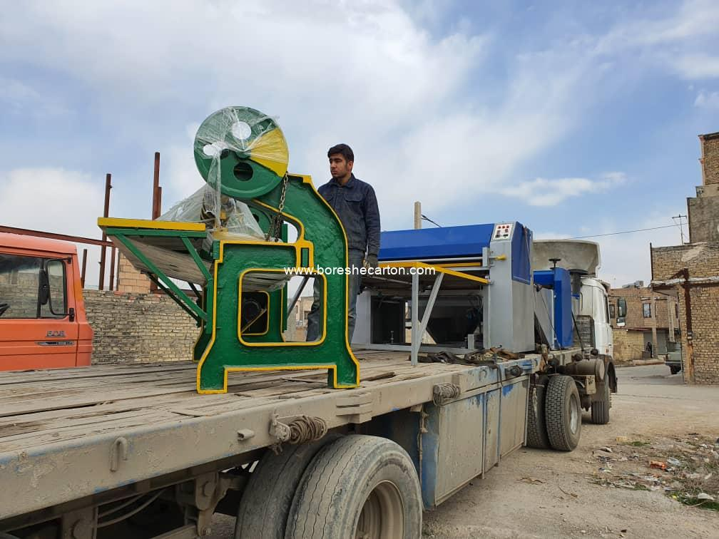 ماشین آلات کارتن سازی تهران